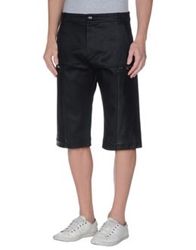 Gareth Pugh Denim Bermudas Black