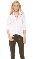 Equipment Margaux Blouse Bright White