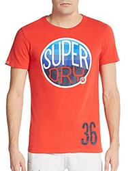 Superdry Hooper Surf Graphic Tee Red