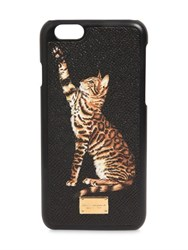 Dolce And Gabbana Cat Printed Dauphine Iphone 6 Case