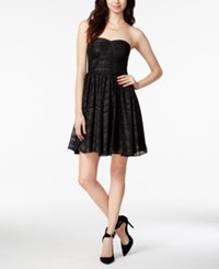 Guess Strapless Fit And Flare Dress