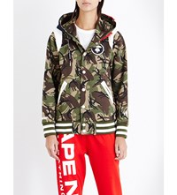 Aape By A Bathing Ape Camouflage Print Jersey Hoody