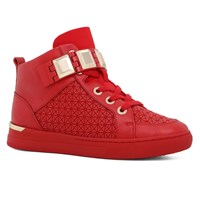 Aldo Choilla Buckle Sneakers Red