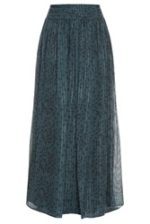 Paul And Joe Moon Print Long Skirt
