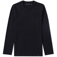 Vanquish Black Long Sleeve Supima Cotton Tee