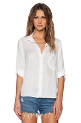 Cp Shades Jay Linen Button Up White