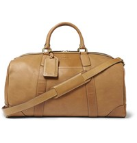 Polo Ralph Lauren Leather Duffle Bag Tan
