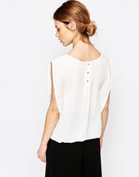 Traffic People Candy Rainbow Falls Top White