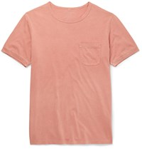 Outerknown Sojourn Slim Fit Pima Cotton T Shirt Pink