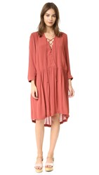 Just Female Canyon Dress Marsala