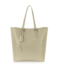 Le Parmentier Large Saffiano Leather Tote Gray