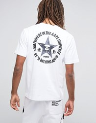 Aape By A Bathing Ape T Shirt With Back Print White
