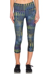 Patagonia Centered Crop Leggings Navy