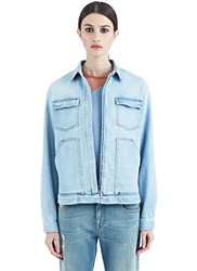 Stella Mccartney Washed Denim Jacket