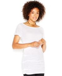 Rachel Rachel Roy Short Sleeve Off The Shoulder Tunic