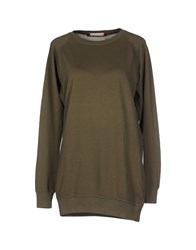 .. Beaucoup Topwear T Shirts Women Military Green