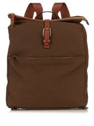 Mismo M S Express Waterproof Backpack Light Brown