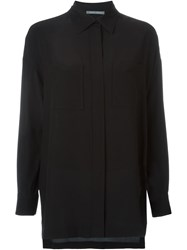 Alberta Ferretti Loose Fit Shirt Black