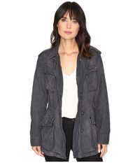 Free People Not Your Brother's Jacket Black Women's Coat