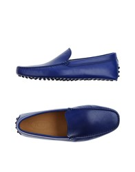 Tod's Footwear Moccasins Men Blue