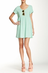American Apparel Babydoll Dress Green