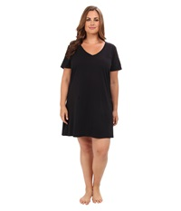 Jockey Cotton Essentials Plus Size Sleepshirt Black Women's Pajama