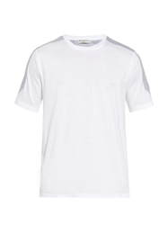 Balenciaga Contrast Panel Cotton Jersey T Shirt