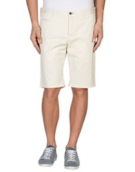 Icon Trousers Bermuda Shorts Men Ivory