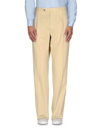 Faconnable Trousers Casual Trousers Men Beige
