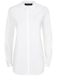 Jaeger Cotton Casual Shirt White