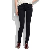Madewell 8 Skinny Jeans In Black Frost