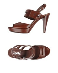 Yves Saint Laurent Rive Gauche Footwear Sandals Women