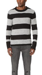 Cheap Monday Caught Knit Black Grey Melange