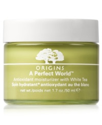 Origins A Perfect World Antioxidant Moisturizer With White Tea 1.7 Oz.