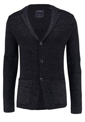 Scotch And Soda Cardigan Graphite Melange Grey