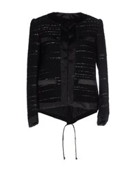 Sacai Suits And Jackets Blazers Women Black