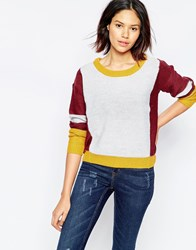 Blend She Mia Panel Pull Over Tawny Port