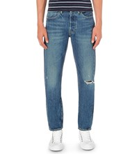 Levi's 501 Skinny Fit Tapered Jeans Fuzzy