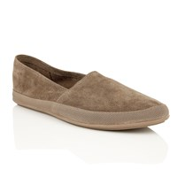 Frank Wright Havana Mens Slip On Loafers Taupe