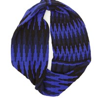 The North Circular Eternity Scarf Mercury Blue