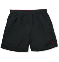 Polo Ralph Lauren Hawaiian Mid Length Swim Shorts Black