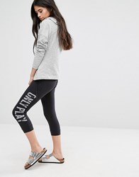 Only Play Gym Leggings Moonless Night Black