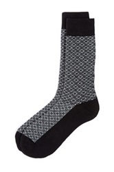 The Tie Bar Opulent Socks Gray