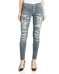 Hudson Ciara Distressed Skinny Jeans In Dismantle