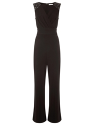 Kaliko Beaded Jumpsuit Black