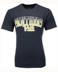 Colosseum Men's Pittsburgh Panthers Gradient Arch T Shirt Navy