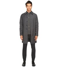 Todd Snyder Double Face Trench Grey
