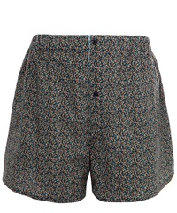 Liberty London Dark Blue Cotton Boxer Shorts