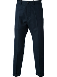 People Tapered Trousers Blue