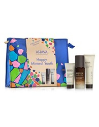 Ahava Happy Minerals Smooth And Glow Face Set No Color